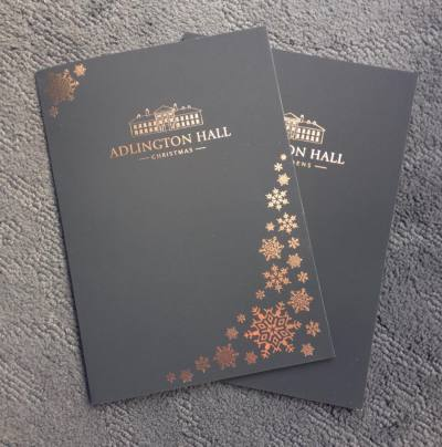 The Christmas and events folders were delivered...