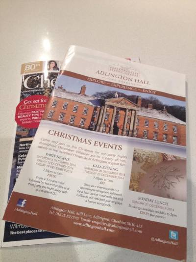 And then before we knew it Christmas was nearly upon as we launched our Winter programme of events.