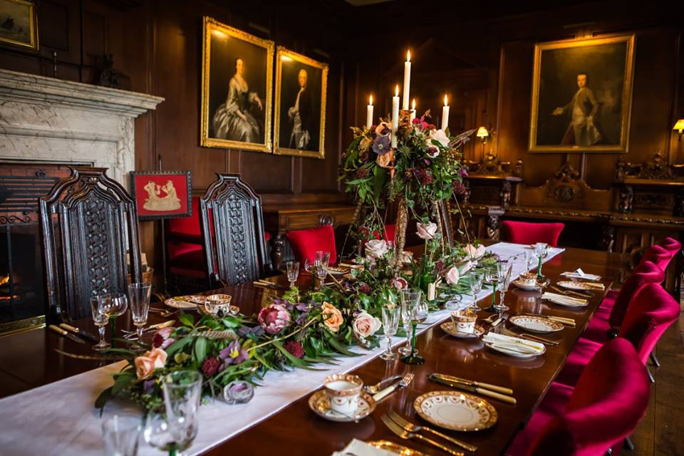 The Dining Room of Adlington Hall.
