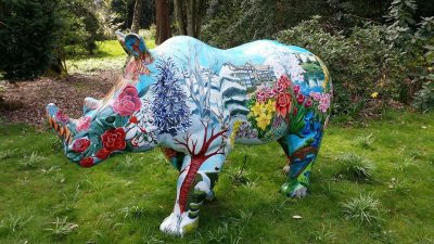 We acquired a rhino called Blossom from Marketing Cheshire.