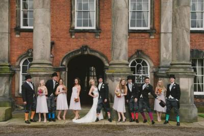 Doing what we love to do we saw a host of weddings throughout the year. This is one of our favourite images of the lovely Kate and Matt and their wedding party.