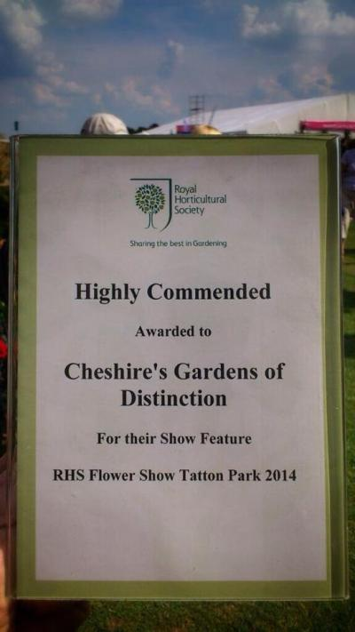 Proud to have been part of the RHS Show and an award winning display!