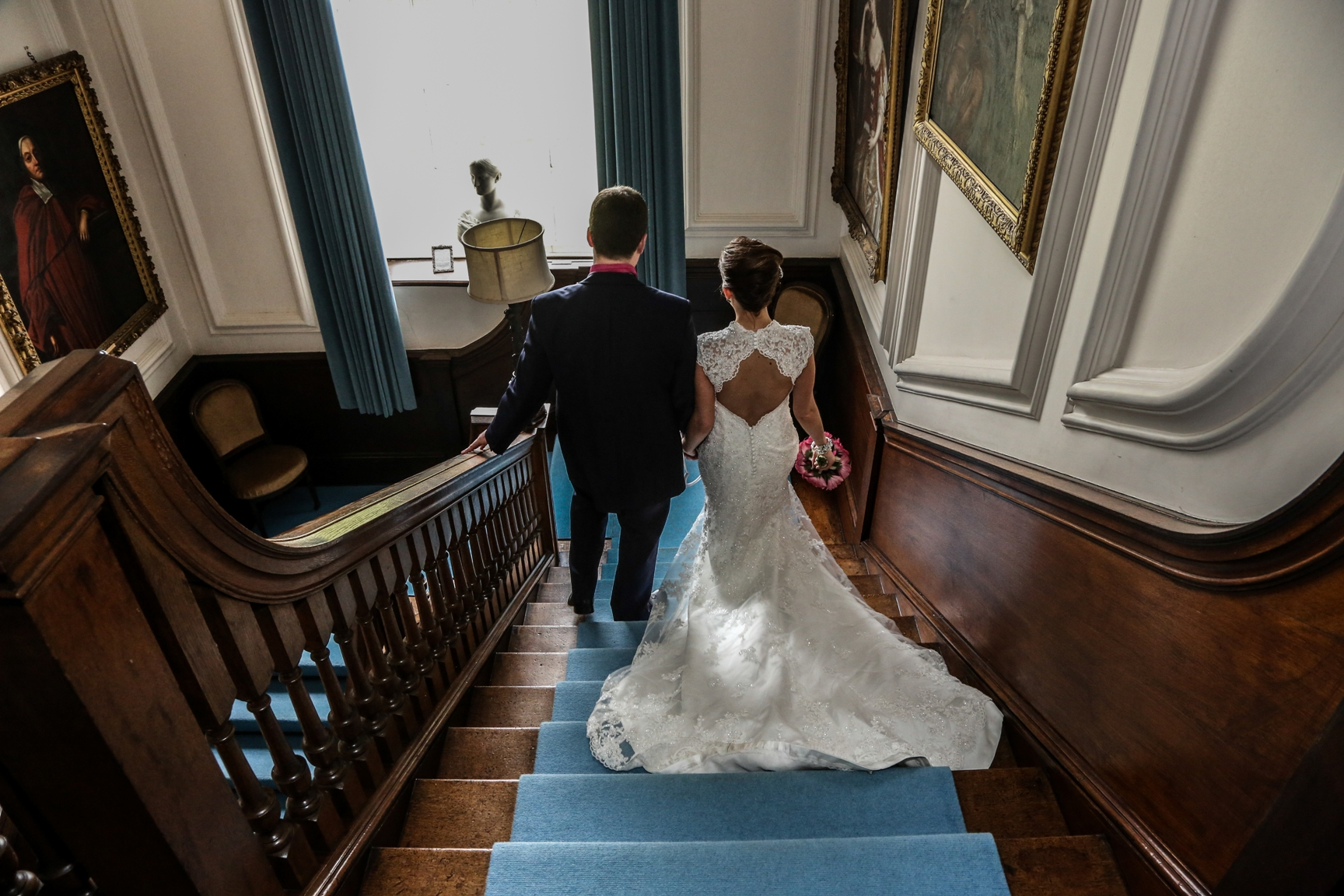 Hall stair case - Rik Dell Photography
