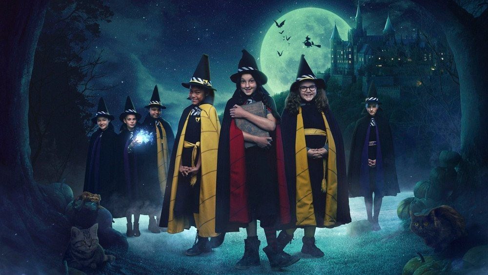 The Worst Witch - Mildred and some of her witch friends